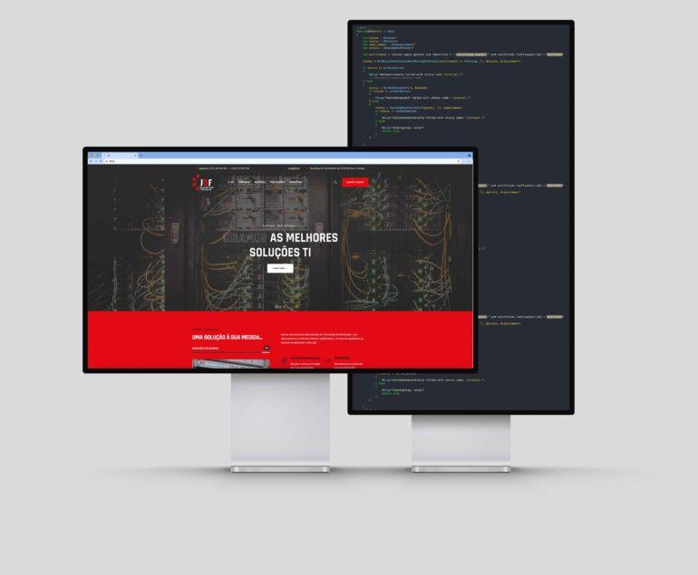 Apresentação website J5F